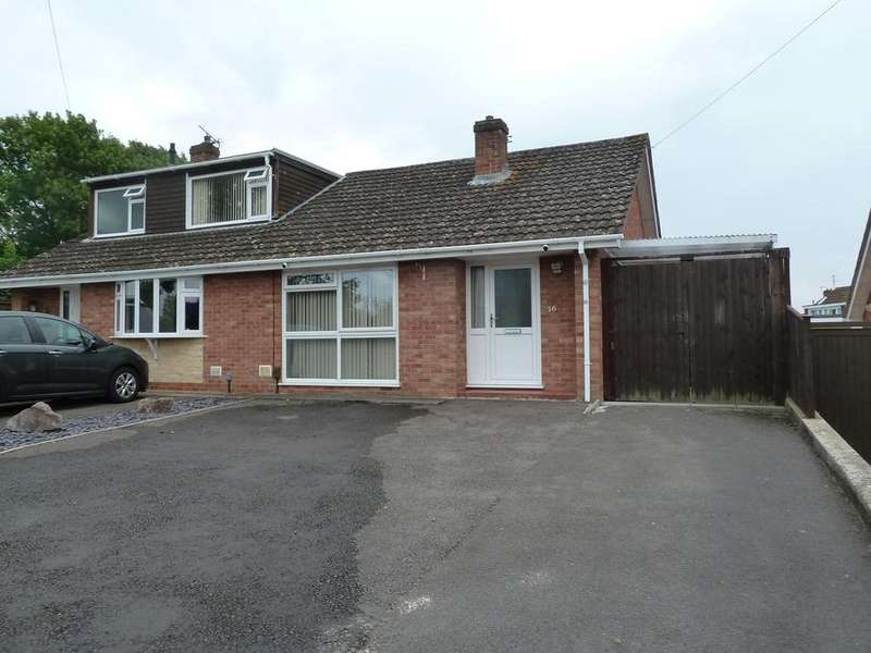 2 Bedrooms Bungalow for sale in Althorp Close, Tuffley, Gloucester, GL4