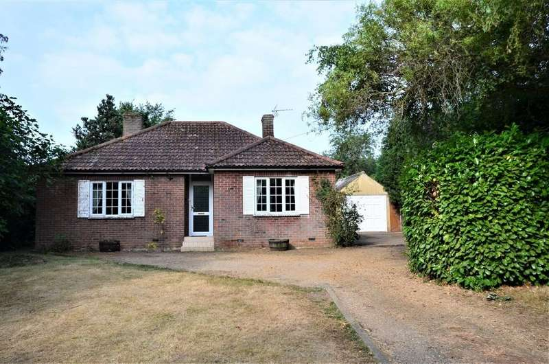 3 Bedrooms Detached Bungalow for sale in Nayland Road, Great Horkesley, CO6 4HA