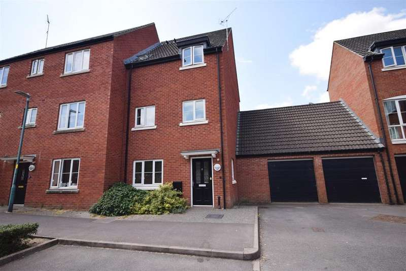 4 Bedrooms Town House for sale in Phelps Mill Close, Dursley