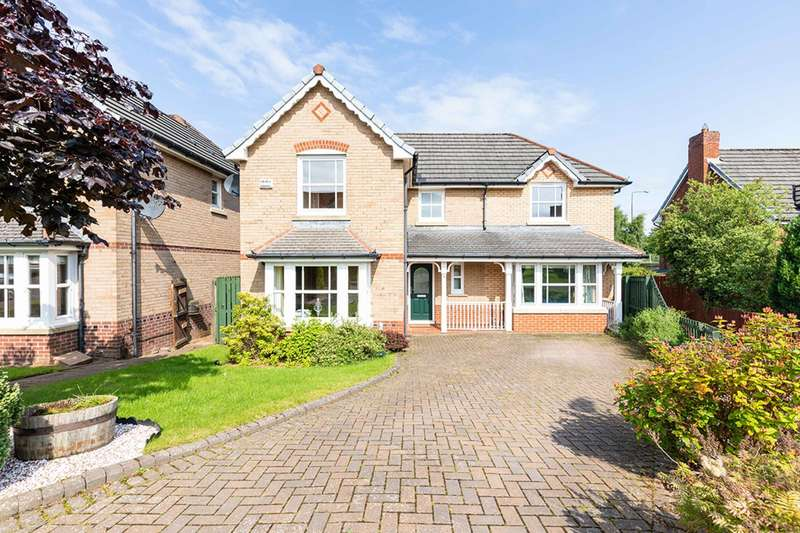 5 Bedrooms Detached House for sale in Tantallon Gardens, Bellsquarry, Livingston, EH54 9AT