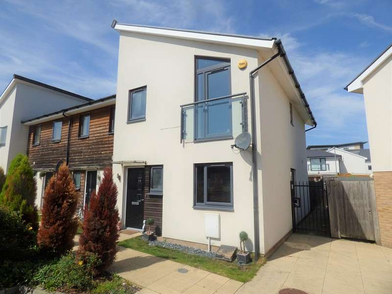 3 Bedrooms Terraced House for sale in Miller Way, Peterborough, Cambridgeshire. PE1 5BD