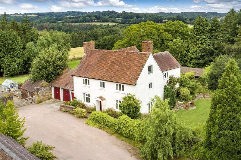 6 Bedrooms Detached House for sale in Wall Town Farm, Cleobury Mortimer, Kidderminster, Shropshire, DY14