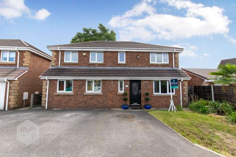 4 Bedrooms Detached House for sale in Black Moss Court, Radcliffe, Manchester, M26