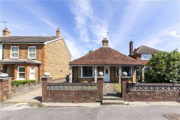 3 Bedrooms Detached Bungalow for sale in College Road, Ash Vale, Surrey