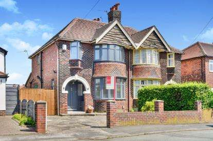 3 Bedrooms Semi Detached House for sale in Offerton Drive, Offerton, Stockport, Cheshire
