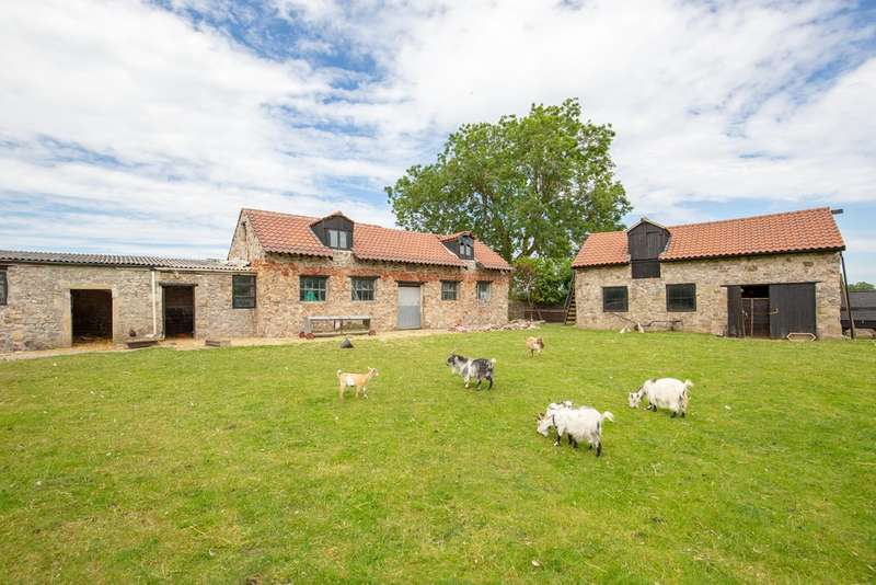 4 Bedrooms Detached House for sale in Smallholding set in over 3 acres and other buildings with consent for residential use.