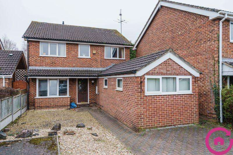 4 Bedrooms Detached House for sale in Bishopstone Close, Cheltenham