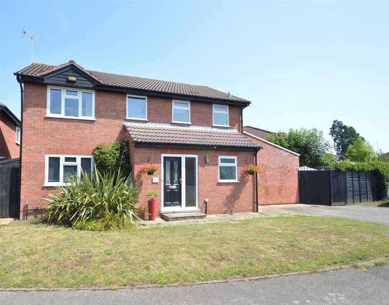 4 Bedrooms Detached House for sale in Moor End, Maidenhead, Berkshire, SL6