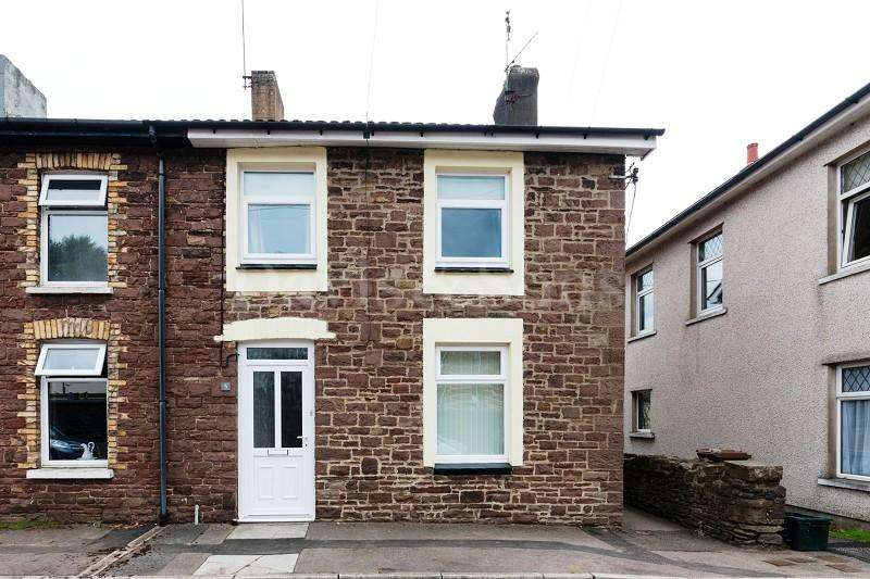 2 Bedrooms End Of Terrace House for sale in Station Road, Risca, Newport. NP11