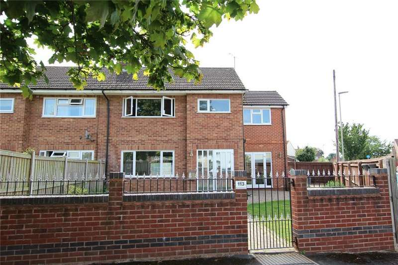 4 Bedrooms Semi Detached House for sale in Barnwood Avenue, Gloucester, Gloucestershire, GL4