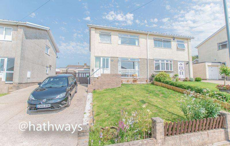 3 Bedrooms Semi Detached House for sale in Russell Close, New Inn