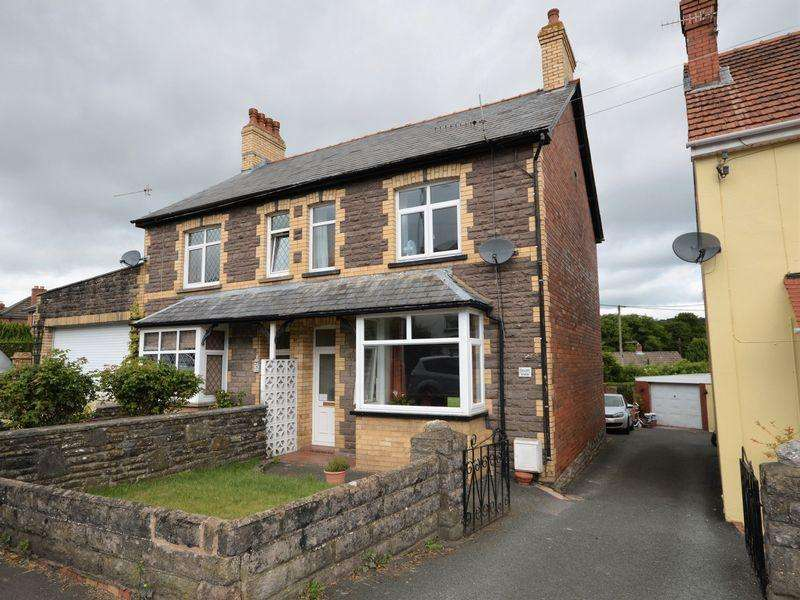 3 Bedrooms Semi Detached House for sale in Merthyr Road, Govilon, Abergavenny