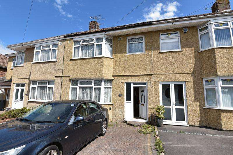 3 Bedrooms Terraced House for sale in Walsh Avenue, Hengrove, Bristol, BS14