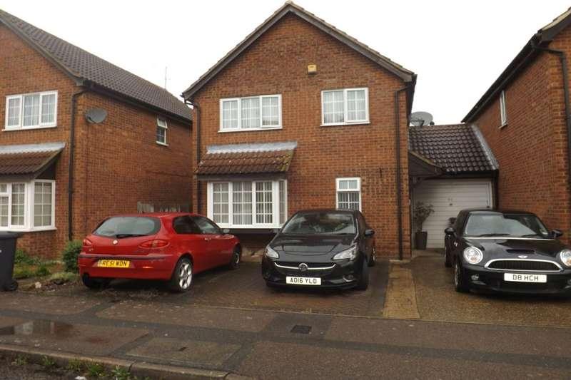 3 Bedrooms Detached House for sale in Fieldfare Green, Luton, LU4