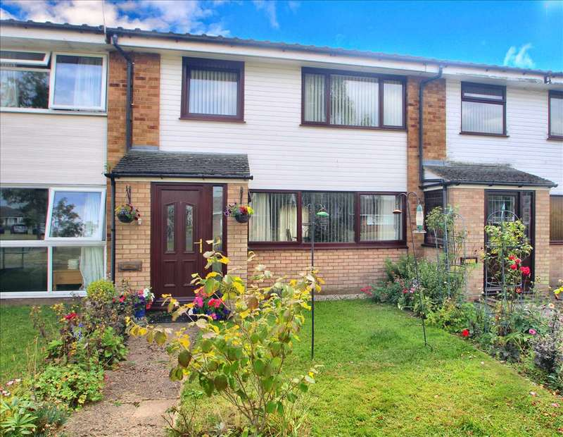 3 Bedrooms Terraced House for sale in Broom Knoll, East Bergholt, Colchester