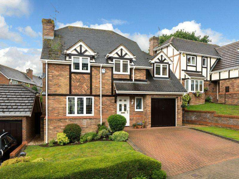 4 Bedrooms Detached House for sale in Mardle Close, Caddington Village