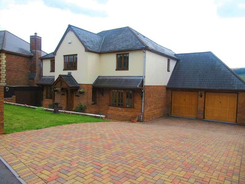 6 Bedrooms Detached House for sale in Llynfi Court, Maesteg, Bridgend. CF34 9NJ