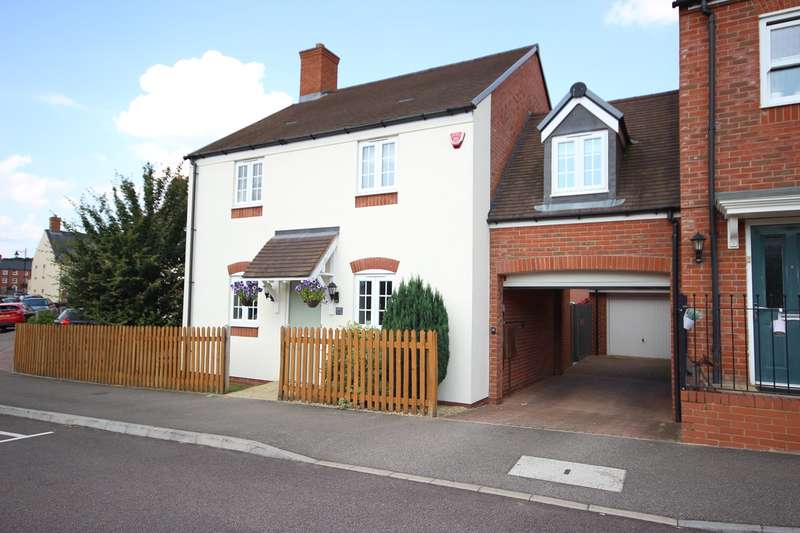 4 Bedrooms Link Detached House for sale in Wagstaff Way, Ampthill, Bedfordshire, MK45
