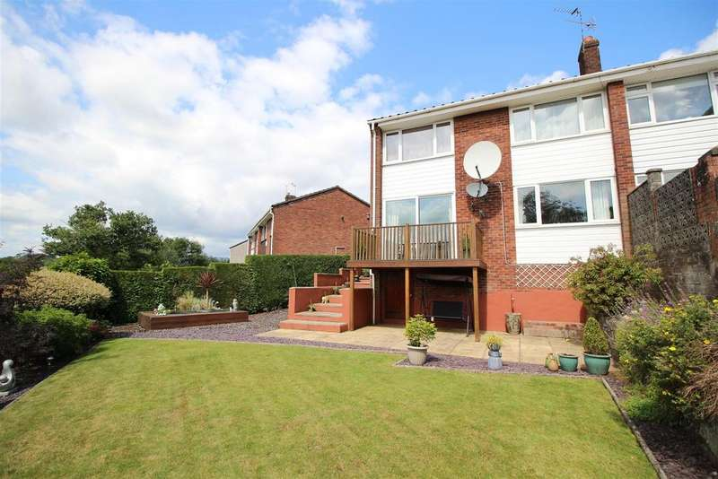 3 Bedrooms Semi Detached House for sale in Coolgreany Crescent, Newport