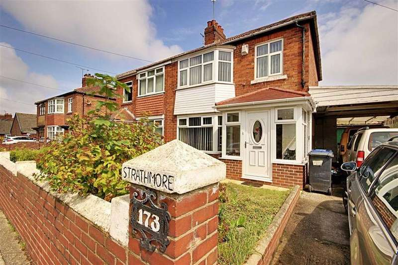 3 Bedrooms Semi Detached House for sale in Wenlock Road, South Shields, Tyne And Wear