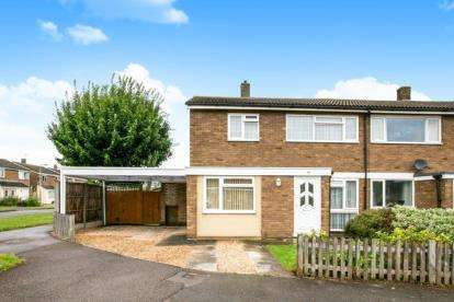 3 Bedrooms Semi Detached House for sale in Mills Walk, Sandy, Bedfordshire