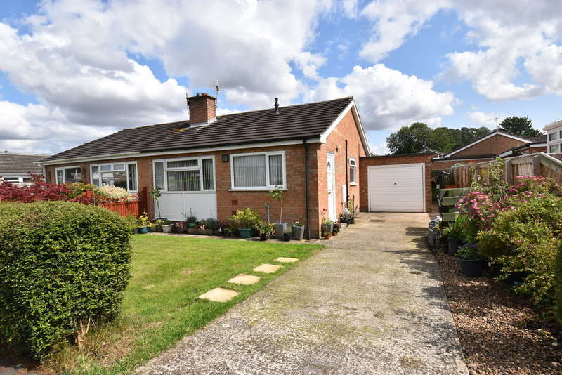 2 Bedrooms Semi Detached Bungalow for sale in Brookside Close, Bedale