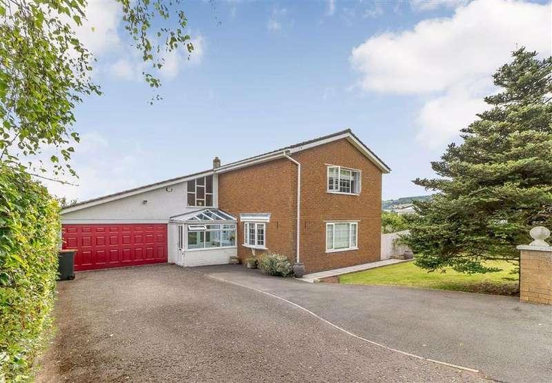 4 Bedrooms Detached House for sale in Llandevaud, Newport