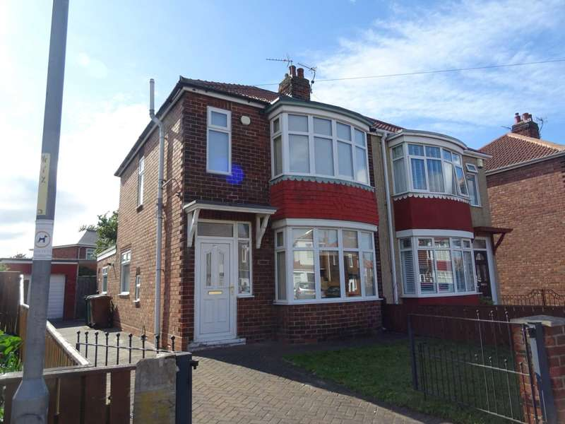3 Bedrooms Semi Detached House for sale in Fernwood Avenue, Hartlepool