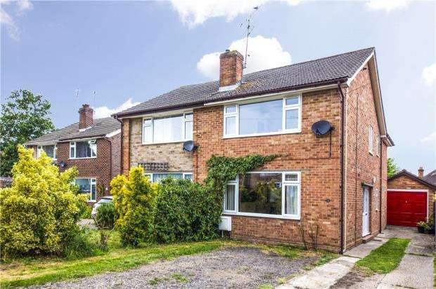 3 Bedrooms Semi Detached House for sale in Castor Court, Yateley, Hampshire