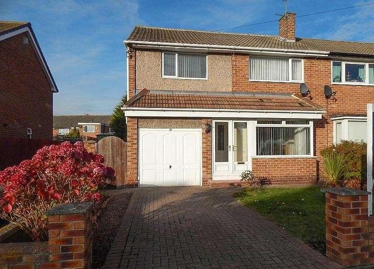 3 Bedrooms Semi Detached House for sale in West Moor Drive, Cleadon