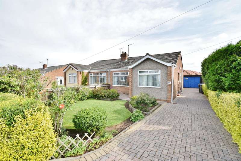 2 Bedrooms Semi Detached House for sale in High Rifts, Stainton Village, Middlesbrough, TS8 9BE