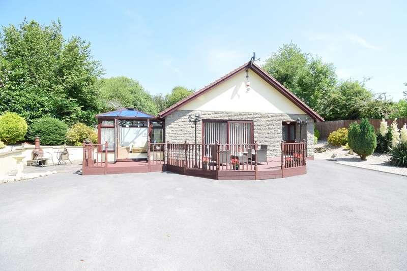 3 Bedrooms Detached Bungalow for sale in Brookside, Blaenavon, Pontypool, NP4