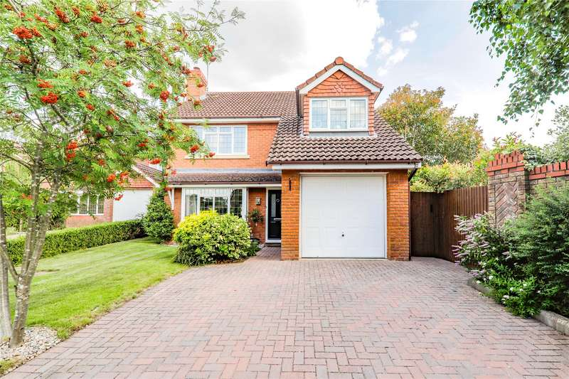 4 Bedrooms Detached House for sale in Plantagenet Park, Warfield, Bracknell, Berkshire, RG42