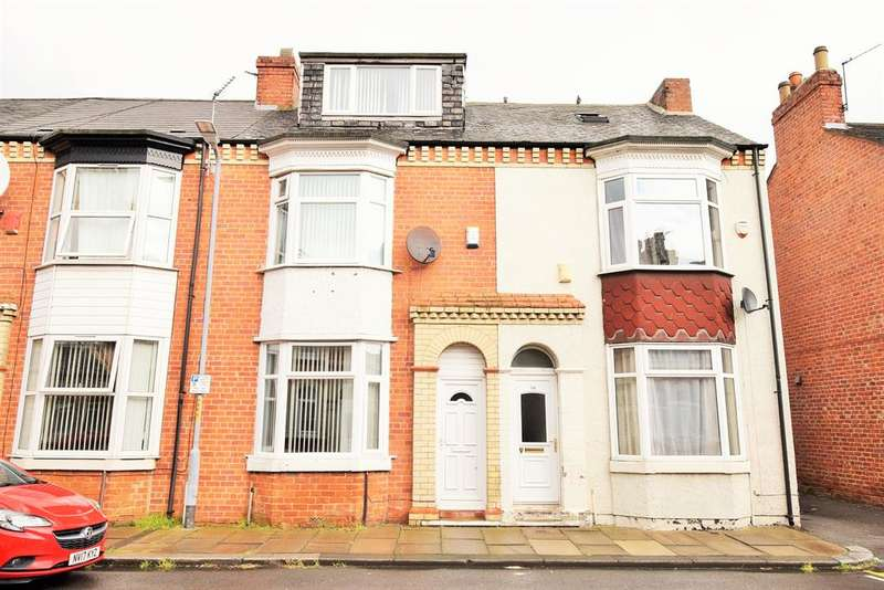 3 Bedrooms Terraced House for sale in Montrose Street, Middlesbrough, TS1 2HU