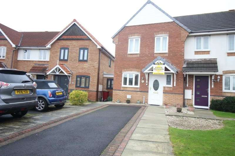 3 Bedrooms End Of Terrace House for sale in Coriander Close, Blackpool
