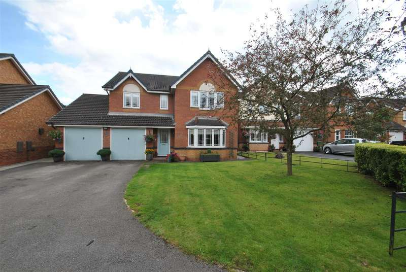 4 Bedrooms Detached House for sale in Malmesbury Park, SANDYMOOR, Runcorn, WA7