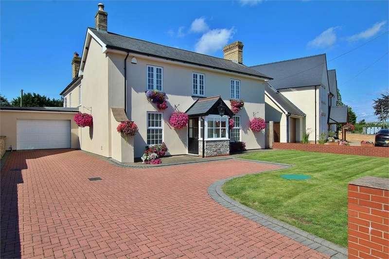 4 Bedrooms Detached House for sale in Church Road, St Brides Wentlooge, Newport