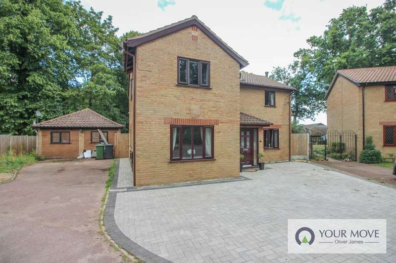 5 Bedrooms Detached House for sale in Turner Close, Bradwell, Great Yarmouth, NR31