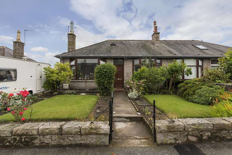 3 Bedrooms Semi Detached Bungalow for sale in Hilton Avenue, Aberdeen, AB24 4LL