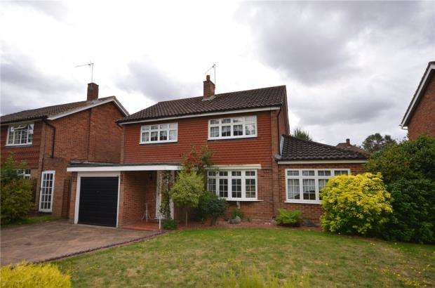 4 Bedrooms Detached House for sale in Webster Close, Maidenhead, Berkshire