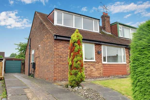 3 Bedrooms Semi Detached Bungalow for sale in Linden Drive, Crewe, Cheshire, CW1 6HN