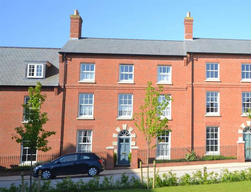 4 Bedrooms Terraced House for sale in Marsden Street, Poundbury, Dorchester