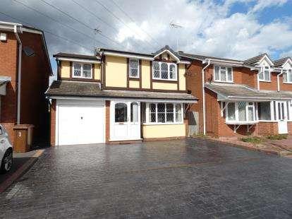 4 Bedrooms Detached House for sale in Burnside Close, Stenson Fields, Derby, Derbyshire