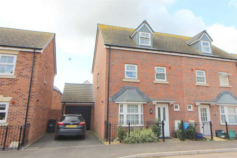 4 Bedrooms Semi Detached House for sale in St. Mawgan Street Kingsway, Quedgeley, Gloucester