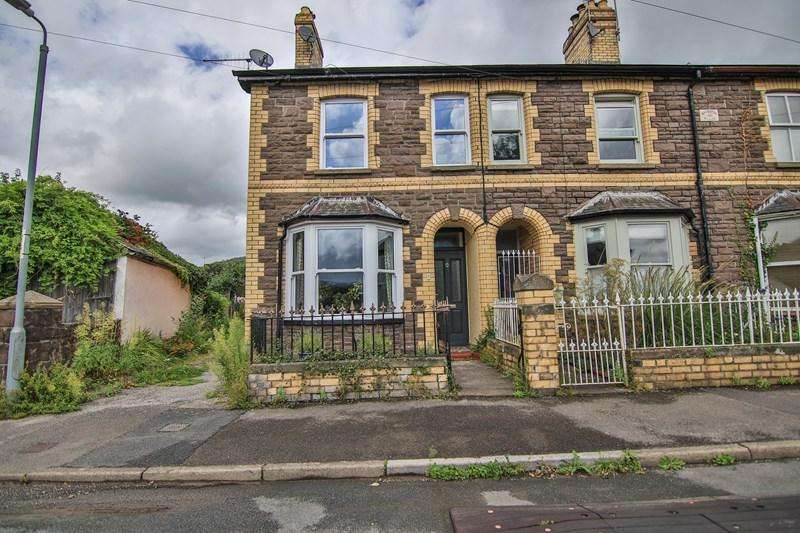 2 Bedrooms End Of Terrace House for sale in Orchard Street, Abergavenny