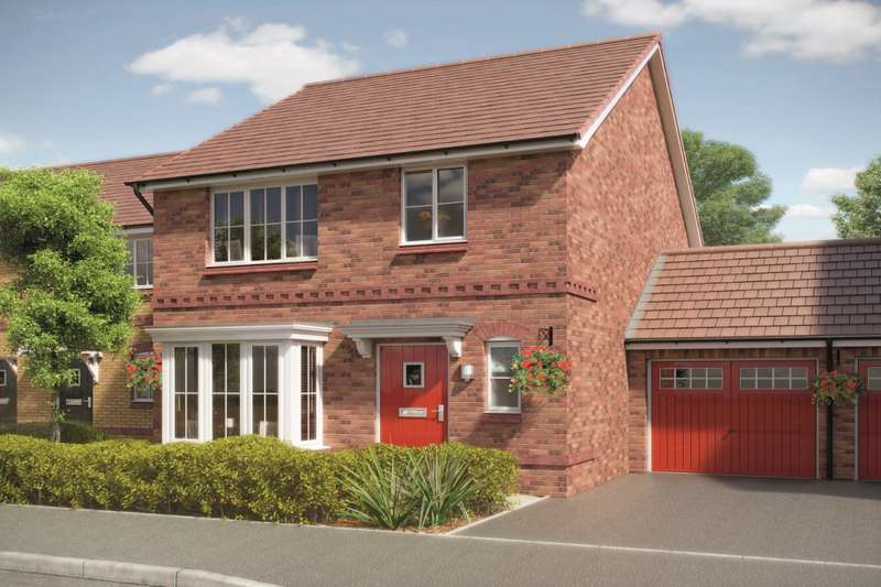 3 Bedrooms Detached House for sale in The Ashop, Wards Keep, Wednesbury, West Midlands, WS10