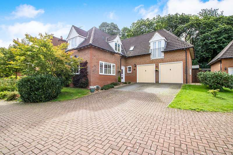 4 Bedrooms Detached House for sale in Weatherall Close, Dunkirk, Faversham, Kent, ME13