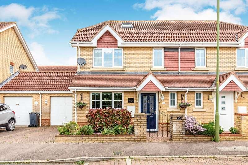 4 Bedrooms Semi Detached House for sale in Priestley Road, Stevenage, Hertfordshire, SG2
