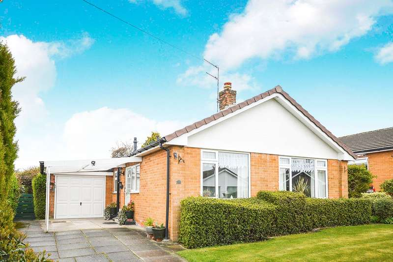 2 Bedrooms Detached Bungalow for sale in Hampton Road, Oswestry, Shropshire, SY11