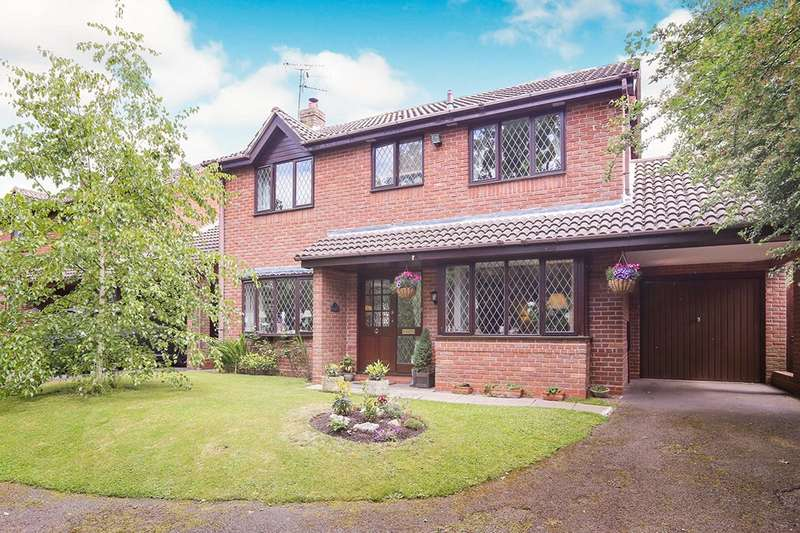 4 Bedrooms Detached House for sale in Dippons Lane, Wolverhampton, WV6
